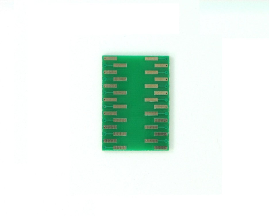 SSOP-28 to DIP-28 SMT Adapter (0.65 mm pitch) 1