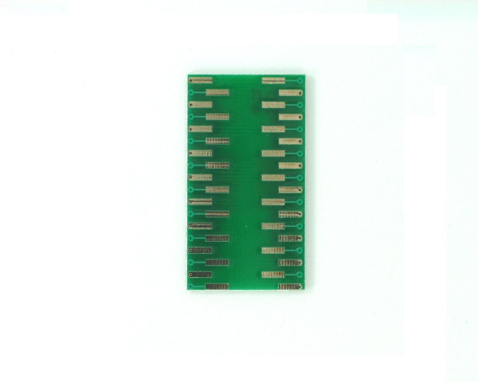 SSOP-36 to DIP-36 SMT Adapter (0.65 mm pitch) 1