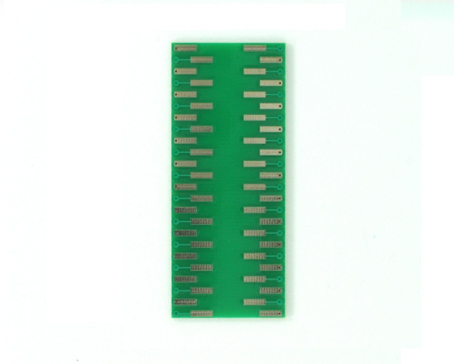 SSOP-48 to DIP-48 SMT Adapter (0.635 mm pitch) 1
