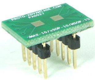 MSOP-10 (0.5 mm pitch)  0