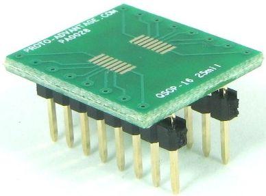 QSOP-16 (0.635 mm / 25 mil pitch) 0