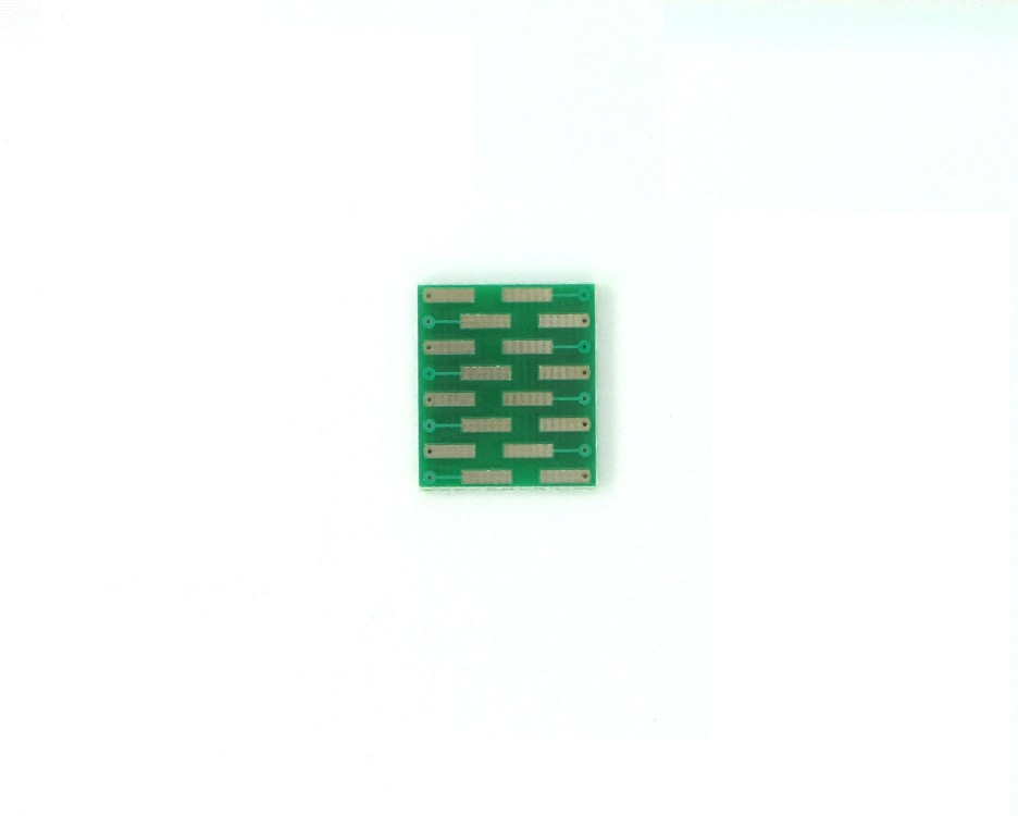 QSOP-16 to DIP-16 SMT Adapter (0.635 mm / 25 mil pitch) 1