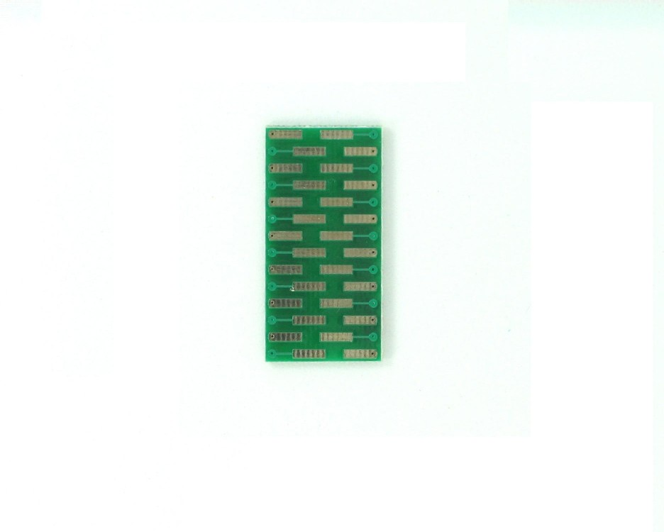 QSOP-28 to DIP-28 SMT Adapter (0.635 mm / 25 mil pitch) 1