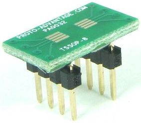 TSSOP-8 (0.65 mm pitch) 0