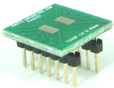 TSSOP-14 (0.65 mm pitch) 0