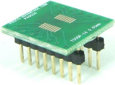 TSSOP-16 (0.65 mm pitch)  0