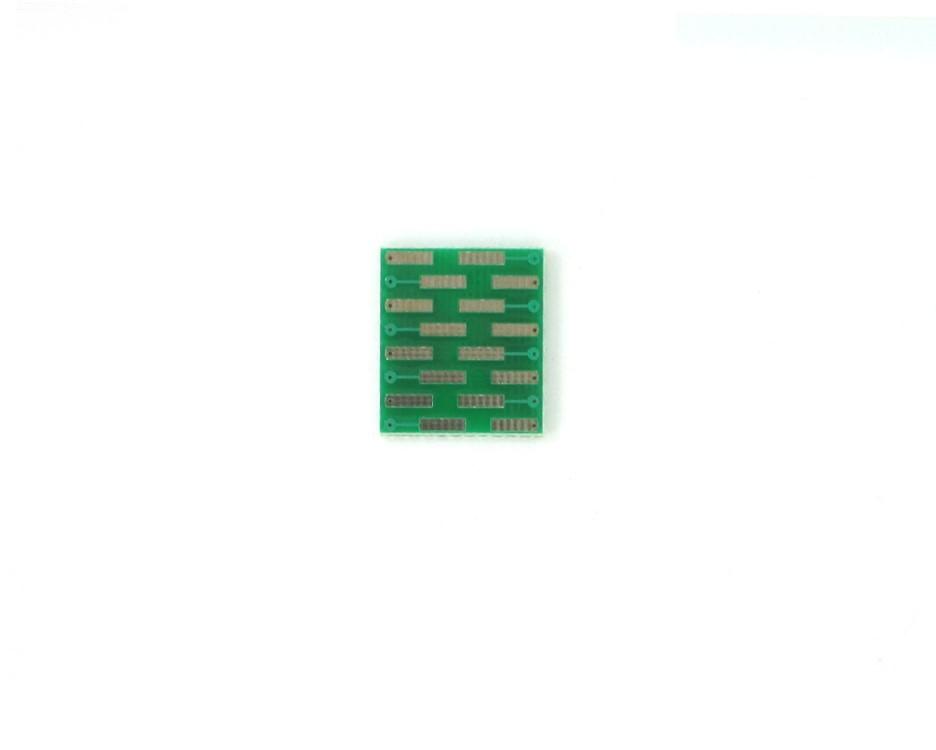 TSSOP-16 to DIP-16 SMT Adapter (0.65 mm pitch) 1