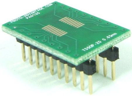 TSSOP-20 (0.65 mm pitch) 0