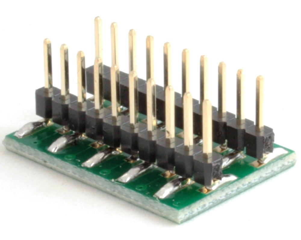 Proto Advantage Tssop 20 To Dip Smt Adapter 065 Mm Pitch Small Outline Integrated Circuit Soic And Sop Click Enlarge