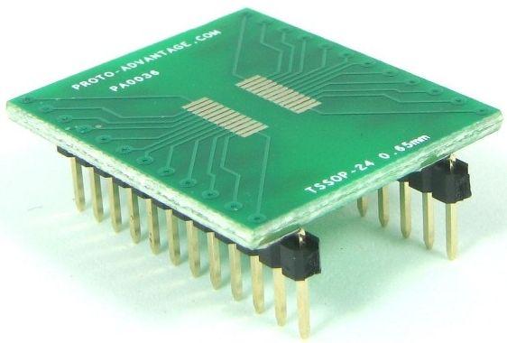TSSOP-24 (0.65 mm pitch) 0