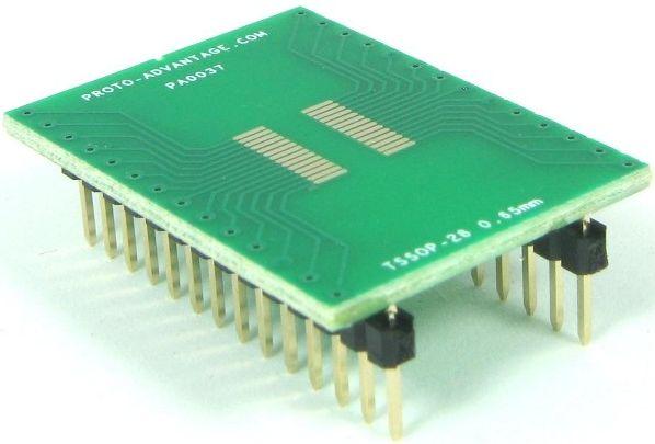 TSSOP-28 (0.65 mm pitch) 0