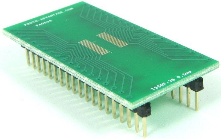 TSSOP-38 (0.5 mm pitch) 0