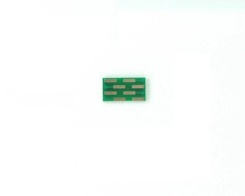 VSSOP-8 to DIP-8 SMT Adapter (0.5 mm pitch) 1
