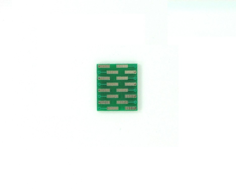 VSOP-16 to DIP-16 SMT Adapter (0.65 mm pitch, 4.4 mm body) 1