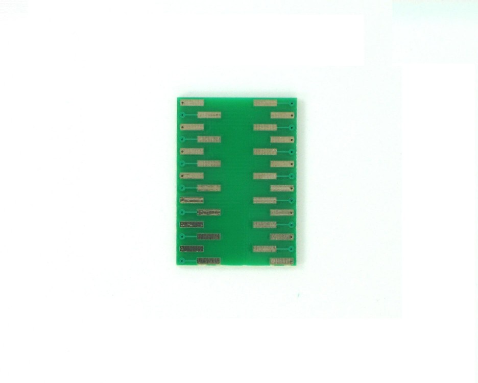 VSOP-28 to DIP-28 SMT Adapter (0.65 mm pitch, 5.6 mm body) 1