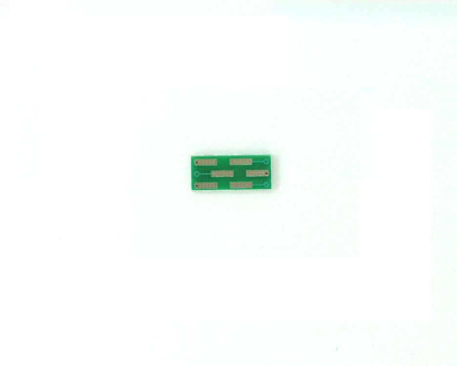 MLP/DFN-6 to DIP-6 SMT Adapter (0.5 mm pitch, 2 x 2 mm body) 1