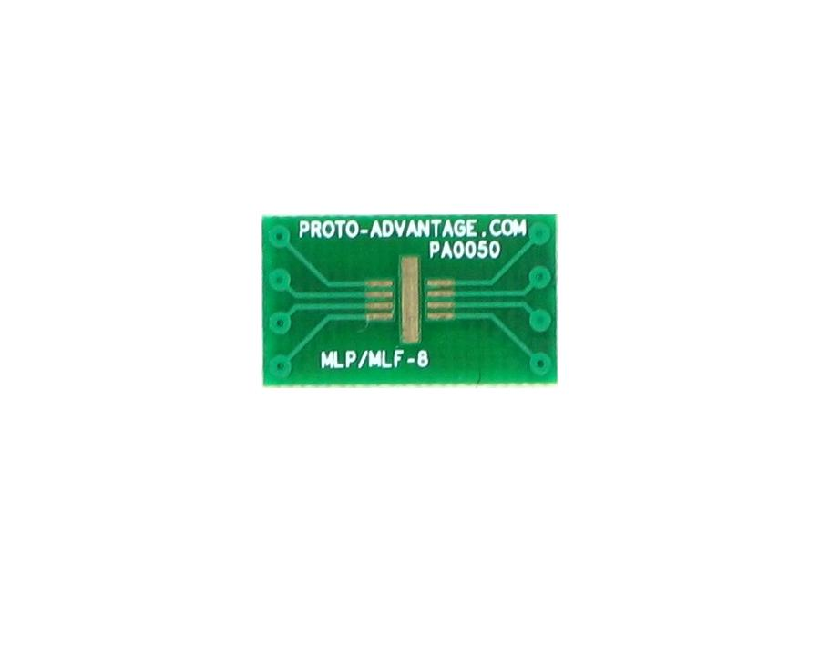 MLP/MLF-8 to DIP-8 SMT Adapter (0.65 mm pitch, 3 x 3 mm body) 2