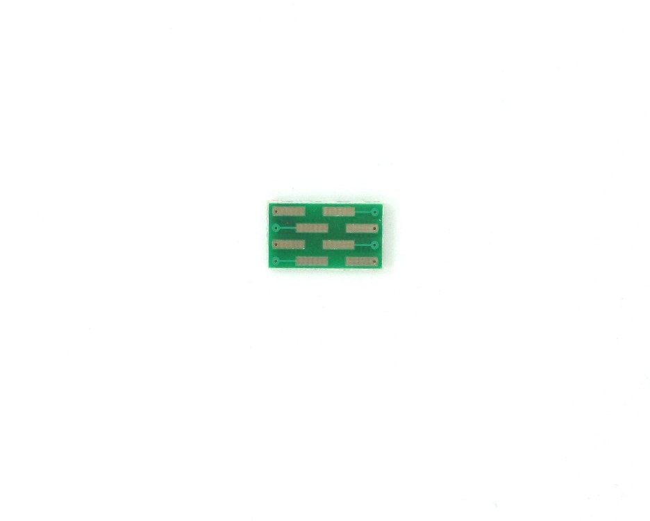 MLP/MLF-8 to DIP-8 SMT Adapter (0.65 mm pitch, 3 x 3 mm body) 3