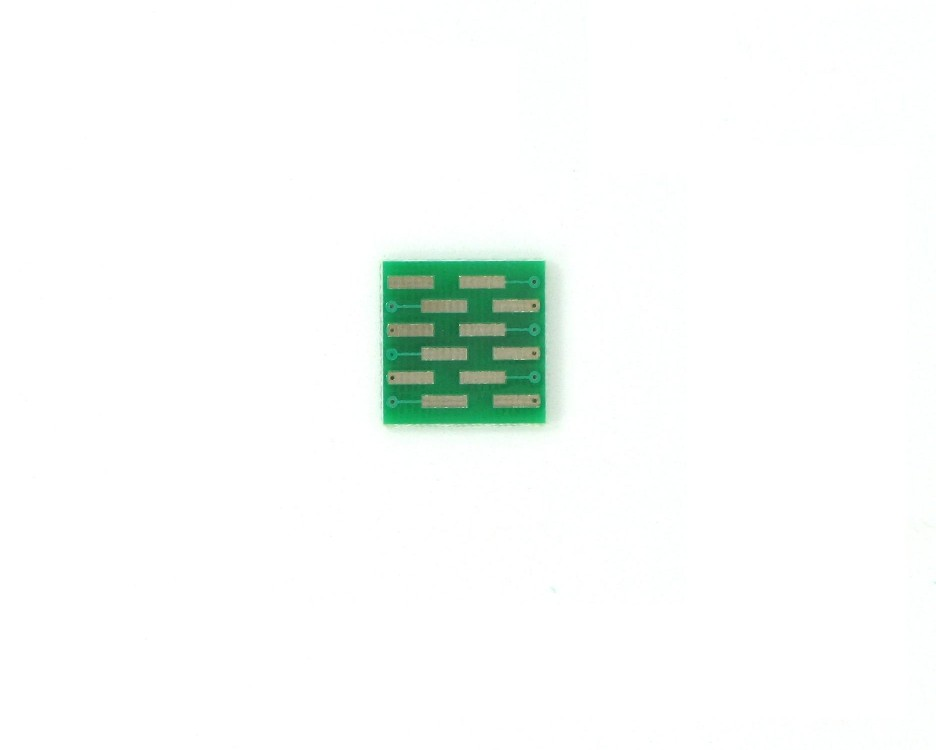MLP/MLF-11 to DIP-12 SMT Adapter (0.5 mm pitch, 3 x 3 mm body) 1