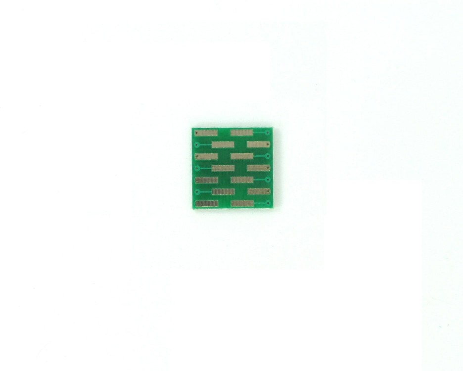 MLP/MLF-14 to DIP-14 SMT Adapter (0.5 mm pitch, 5 x 4 mm body) 1