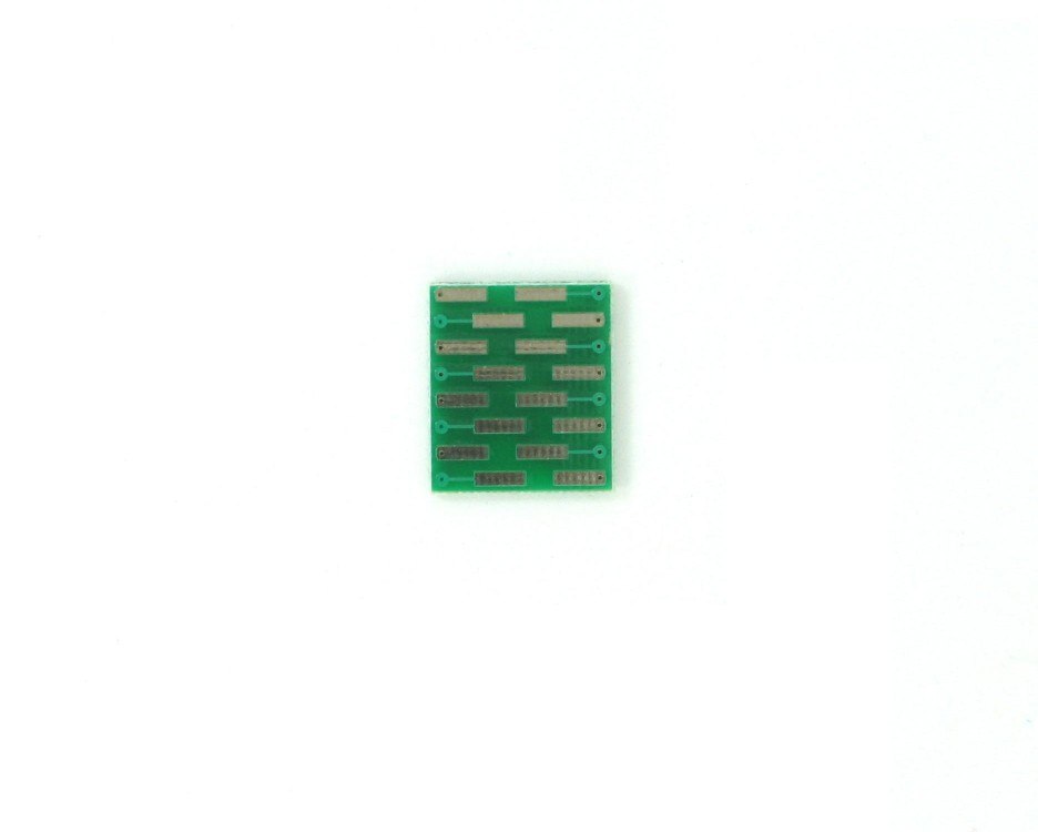 MLP/MLF-16 to DIP-16 SMT Adapter (0.5 mm pitch, 3 x 3 mm body) 1