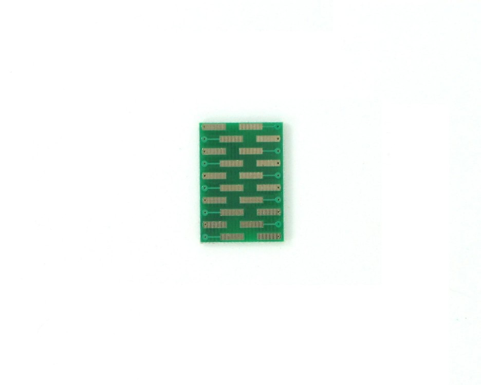MLP/MLF-20 to DIP-20 SMT Adapter (0.5 mm pitch, 4 x 4 mm body) 1