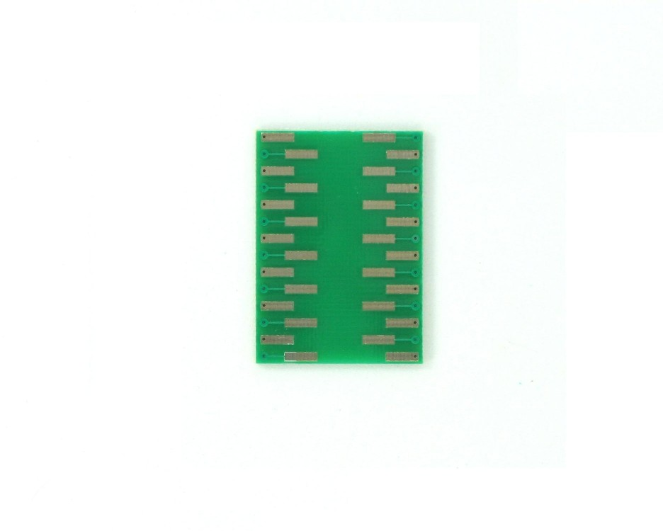MLP/MLF-28 to DIP-28 SMT Adapter (0.5 mm pitch, 5 x 5 mm body) 1