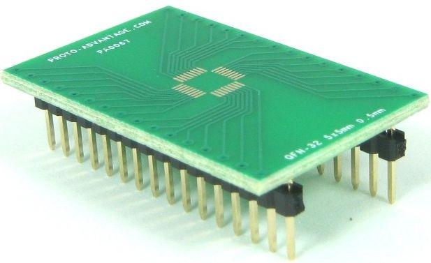 QFN-32 (0.5 mm pitch, 5 x 5 mm body) 0