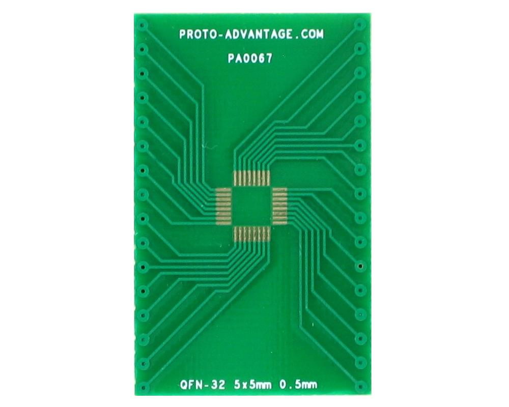 QFN-32 to DIP-32 SMT Adapter (0.5 mm pitch, 5 x 5 mm body) 2