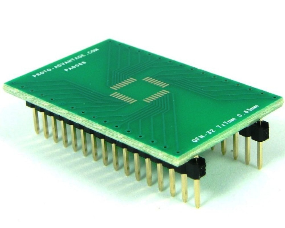 QFN-32 to DIP-32 SMT Adapter (0.65 mm pitch, 7 x 7 mm body) 0