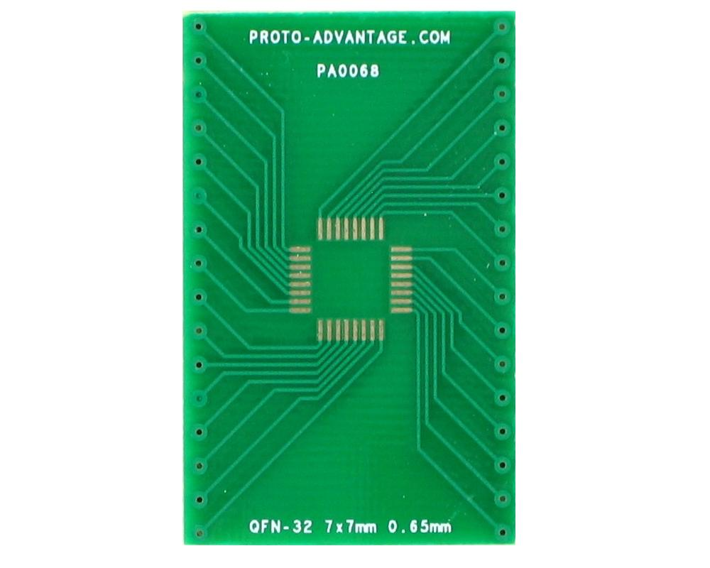 QFN-32 to DIP-32 SMT Adapter (0.65 mm pitch, 7 x 7 mm body) 2