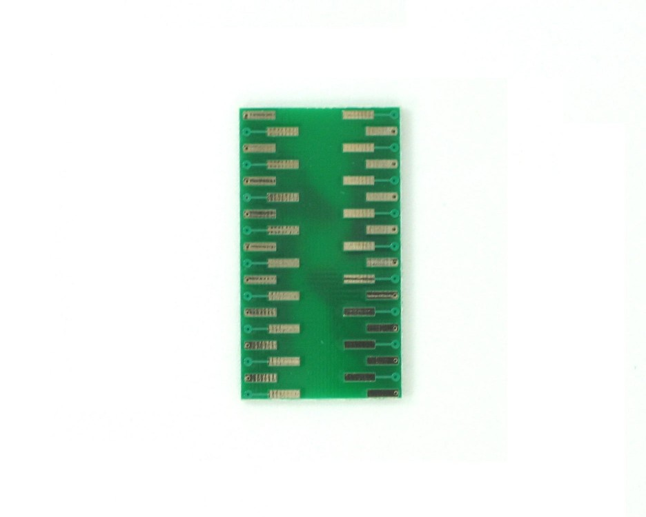 QFN-36-THIN to DIP-36 SMT Adapter (0.5 mm pitch, 6 x 6 mm body) 1