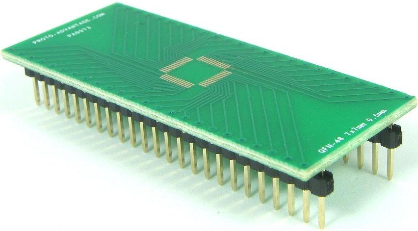 QFN-48 (0.5 mm pitch, 7 x 7 mm body) 0