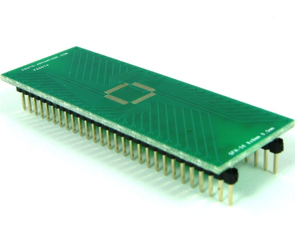 QFN-56 to DIP-56 SMT Adapter (0.5 mm pitch, 8 x 8 mm body) 0