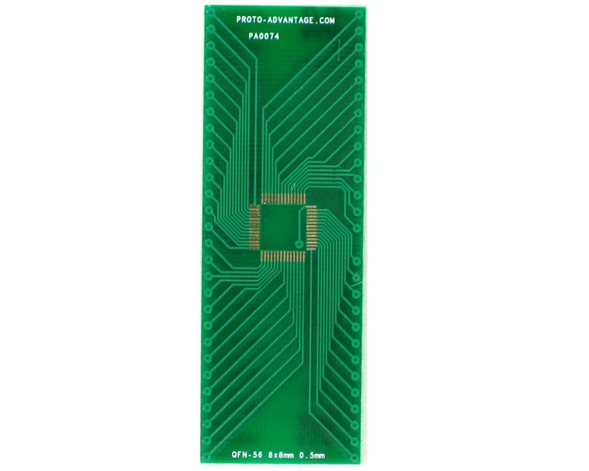 QFN-56 to DIP-56 SMT Adapter (0.5 mm pitch, 8 x 8 mm body) 2