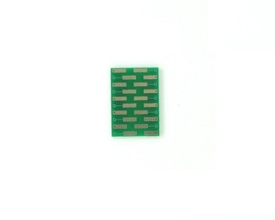 TVSOP-20 to DIP-20 SMT Adapter (0.4 mm pitch) 1