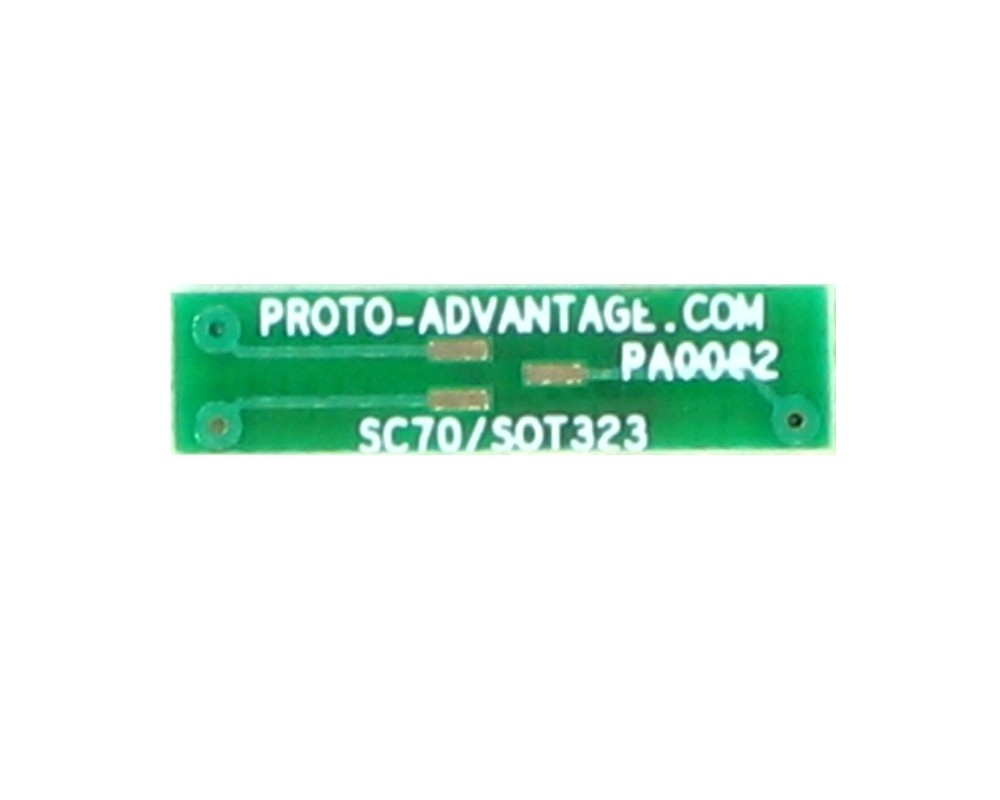 SC70-3 to DIP-4 SMT Adapter (0.65 mm pitch) 2