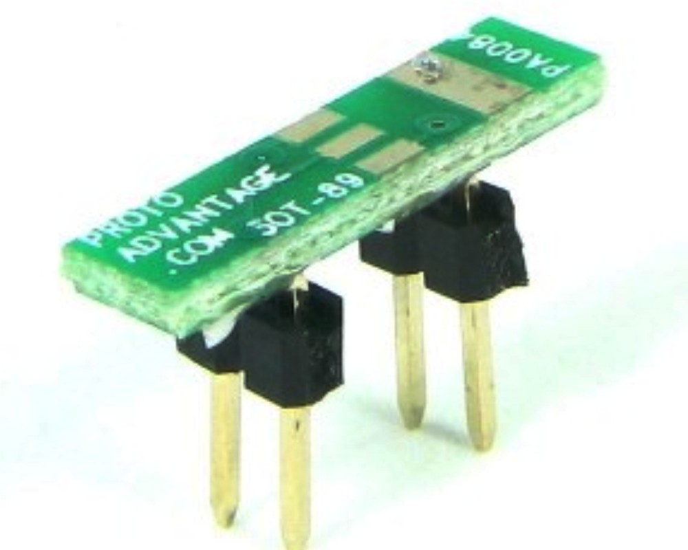 SOT-89 to DIP-4 SMT Adapter (1.5 mm pitch) 0