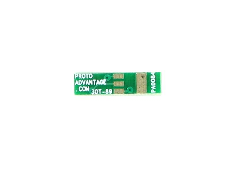 SOT-89 to DIP-4 SMT Adapter (1.5 mm pitch) 2