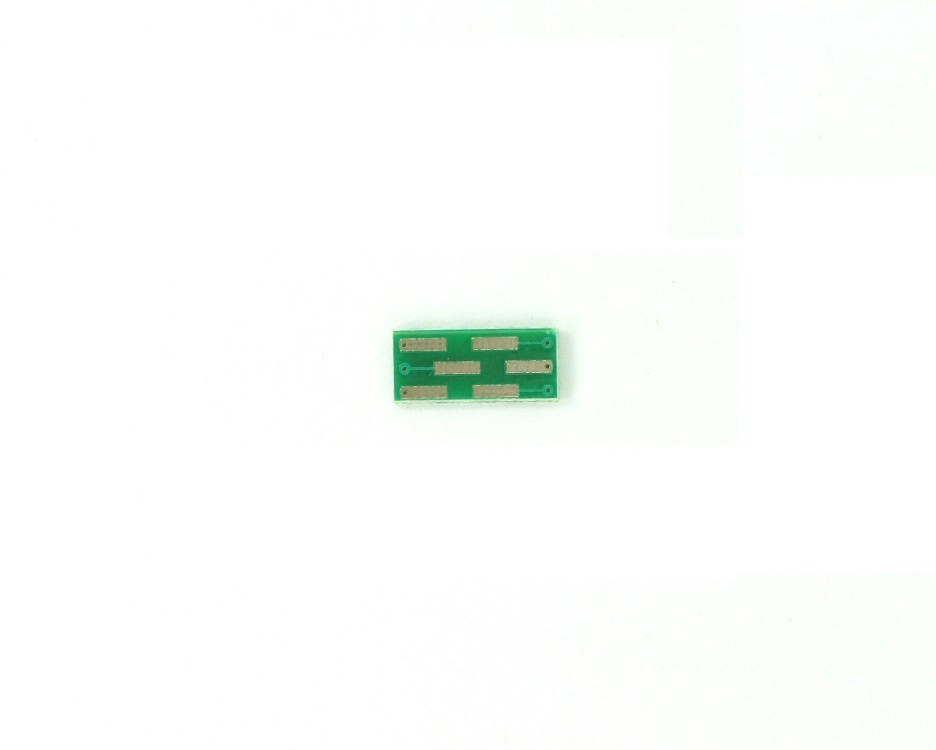 SOT23-6 to DIP-6 SMT Adapter (0.95 mm pitch) 1