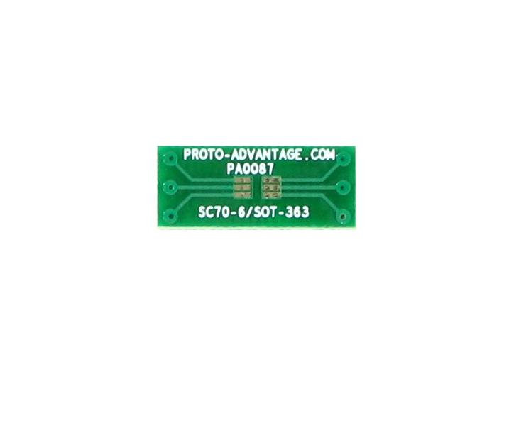 SC70-6 to DIP-6 SMT Adapter (0.65 mm pitch) 2