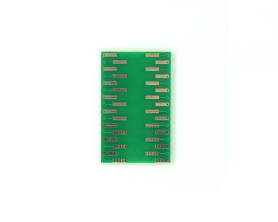 TQFP-32 to DIP-32 SMT Adapter (0.8 mm pitch, 7 x 7 mm body) 1