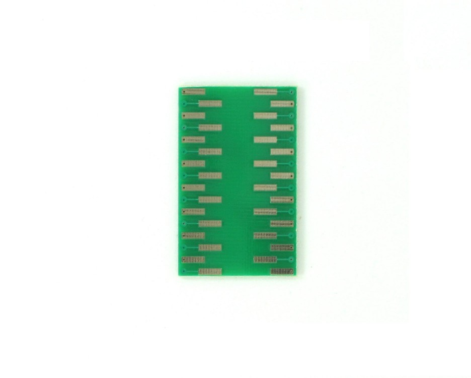 TQFP-32 to DIP-32 SMT Adapter (0.5 mm pitch, 5 x 5 mm body) 1