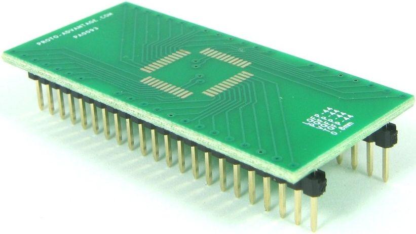 QFP-44 (0.8 mm pitch, 10 x 10 mm body) 0