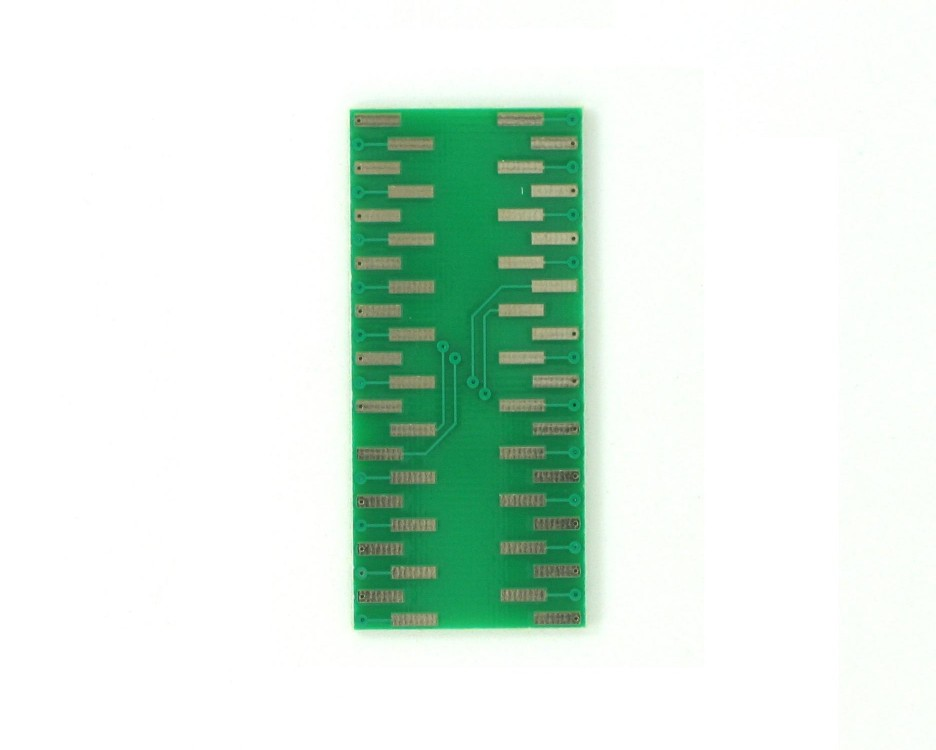 TQFP-44 to DIP-44 SMT Adapter (0.8 mm pitch, 10 x 10 mm body) 1