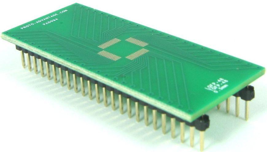 QFP-48 (0.5 mm pitch, 7 x 7 mm body) 0