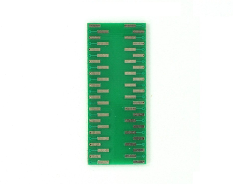LQFP-48 to DIP-48 SMT Adapter (0.5 mm pitch, 7 x 7 mm body) 1
