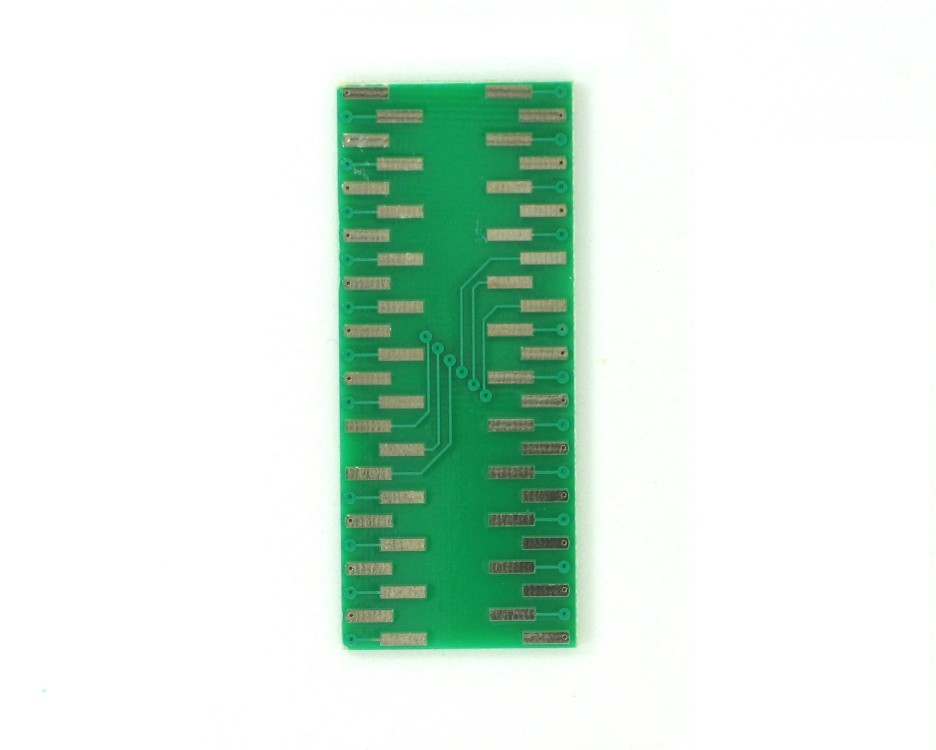 PQFP-48 to DIP-48 SMT Adapter (0.8 mm pitch) 1