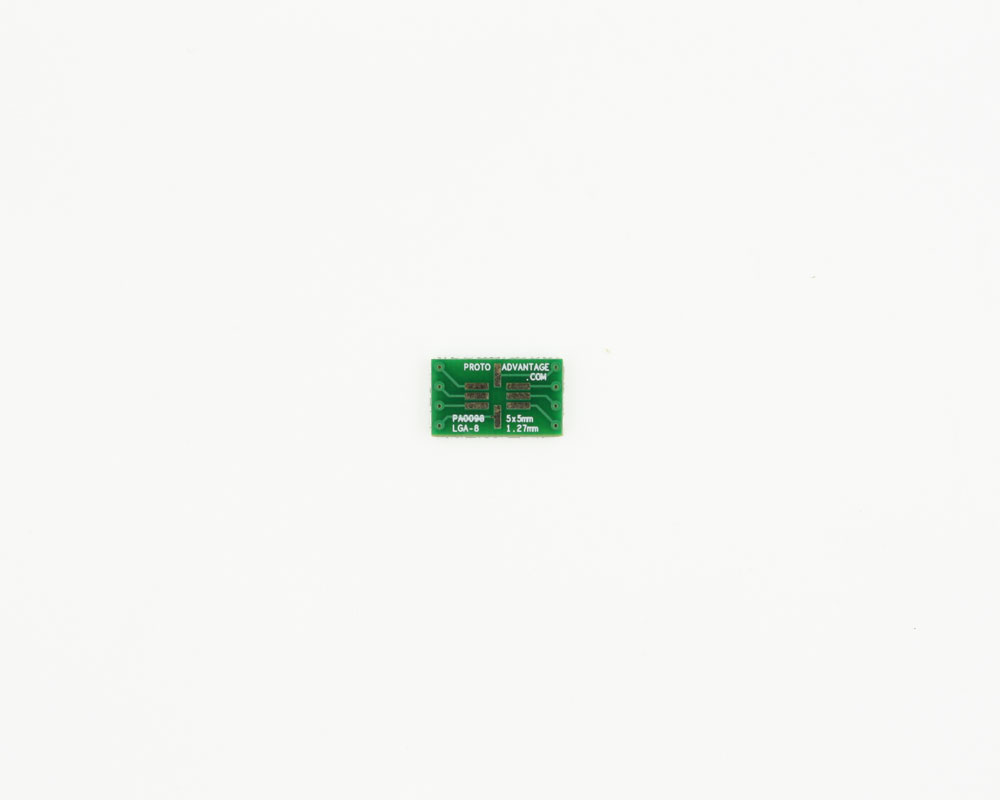 LGA-8 to DIP-8 SMT Adapter (1.27 mm pitch, 5 x 5 mm body) 2