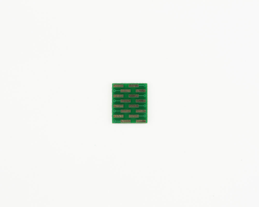 LGA-16 to DIP-16 SMT Adapter (0.8 mm pitch, 5 x 5 mm body) 1